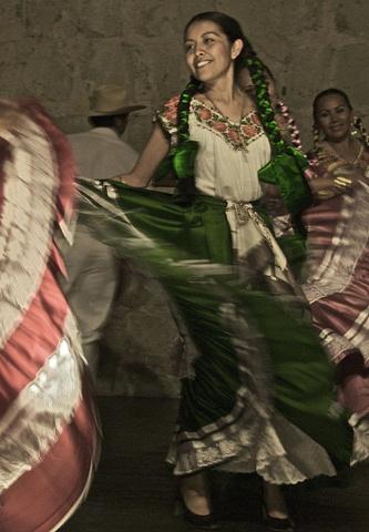 Dancer in Oaxaca Mexico