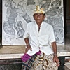 The Artist and his work, Padangtegal, Bali