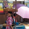Girl in the market #2
