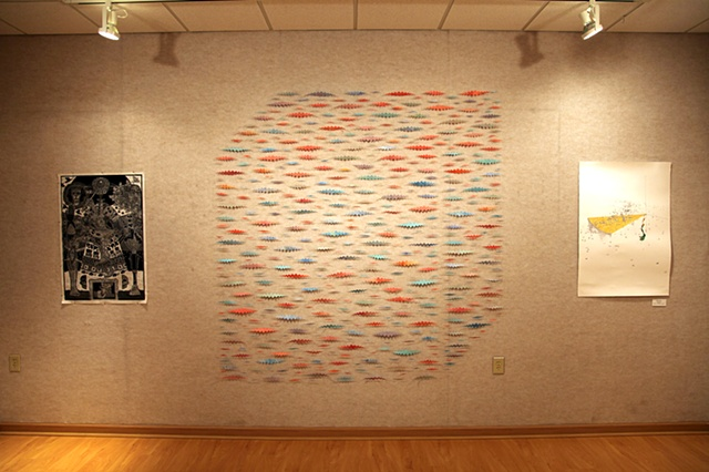 The Big Box (installation view from the Southern Print Biennial VI)