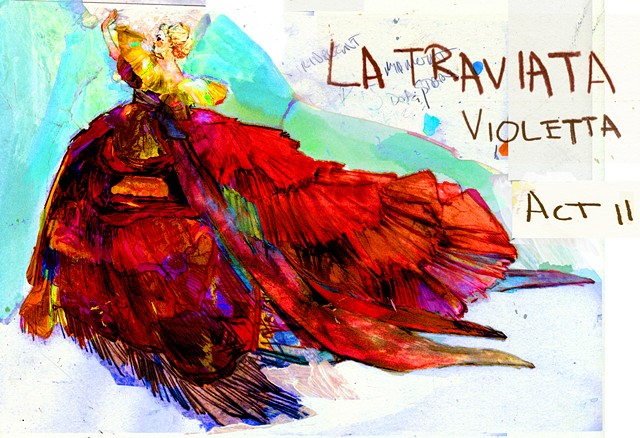 'La Traviata' - Lyric Opera of Chicago/Canadian Opera Company/ Houston Grand Opera
