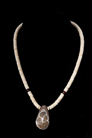 004 Bone and Fossil Necklace