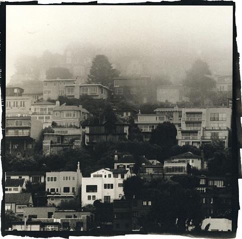 Foggy Stacks on Twin Peaks, San Francisco 2009