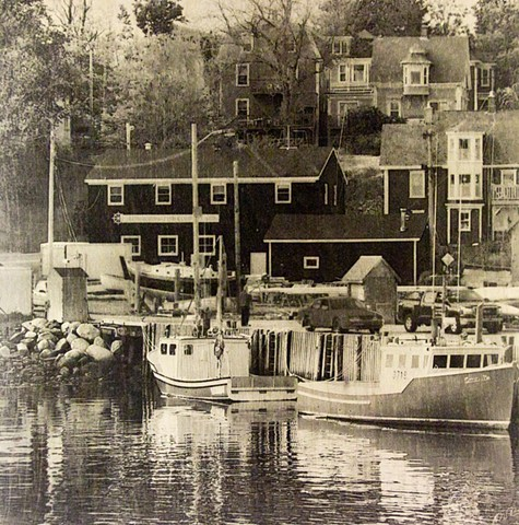 Lunenburg Dock, Nova Scotia
