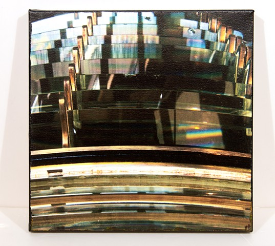 Fresnel Lens, From Northhead Lighthouse, Pacific County, WA.