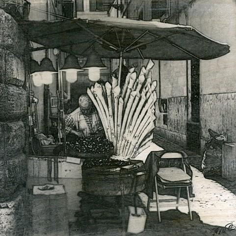 The Chestnut Vendor, Rome