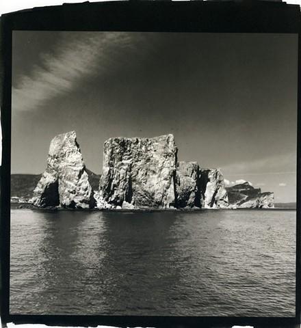 The Gaspé, Seascape, Percé Rock