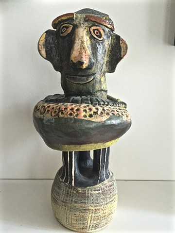 Archaic Figure with Three Legs
