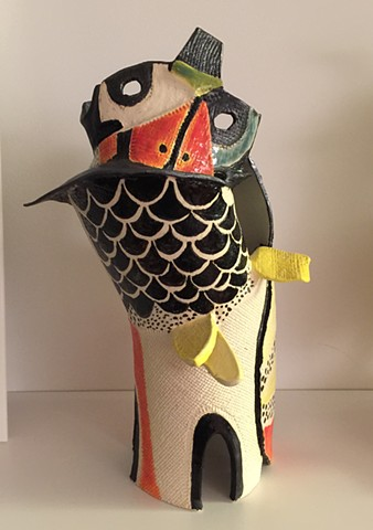 Braque Bird, collection of Stephanie Gamarra