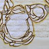 "Detail of the Biscuit Head Mural ""Movement Pattern"""