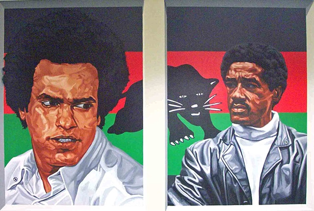 Huey P. Newton and Bobby Seale