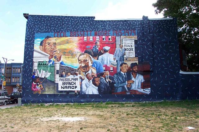Cavinjonesamericanart for American mural project