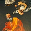 """Inspiration of St. Matthew""detail"