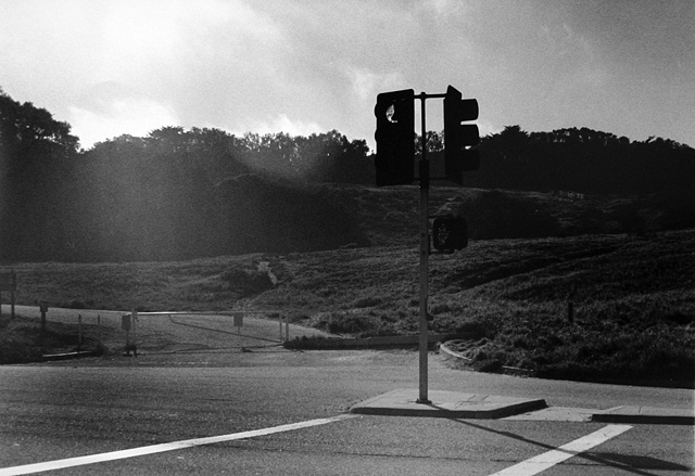 Intersection, Fort Funston, San Francisco C.A.