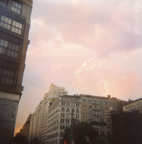NYC summer sky