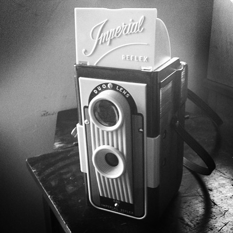 Kodak Imperial Reflex Camera  (This camera has the dubious distinction of being the model used by Lee Harvey Oswald to make some disturbing self portraits in 1960)