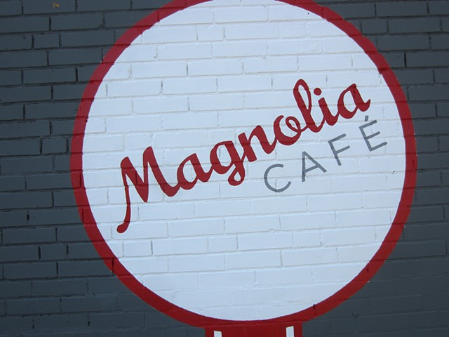 Magnolia Cafe detail