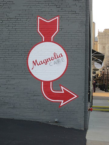 Magnolia Cafe Sign