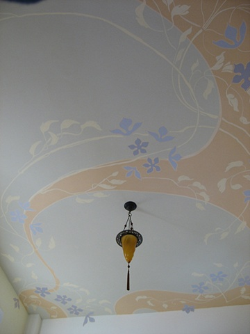 Bedroom ceiling.