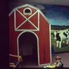 Doctor's office waiting room farm with 3D barn.