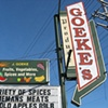 Goeke&#39;s Produce sign painting.