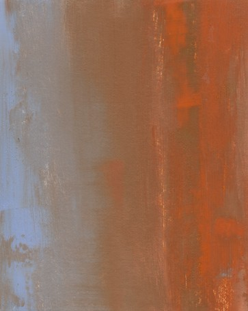 Abstract, orange and blue