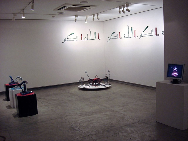 Installation at Gallery Espace New Delhi