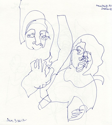 Line Drawing 11