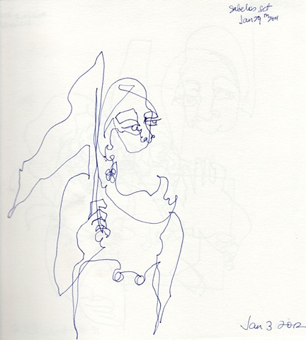 Line Drawing 12