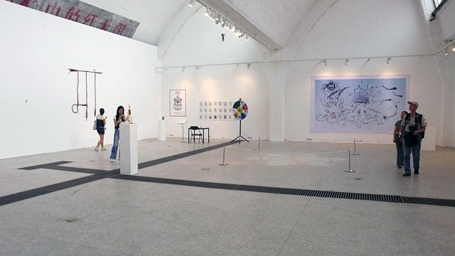 Installation view of Transitional Aesthetics, Beijing, China