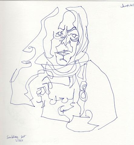 Line Drawing 6