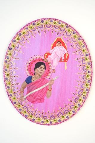 the gulabi gang-star and the politician (Sampat Pal and Mayawati)
