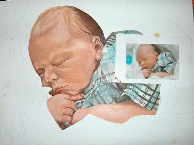 #2 In-Progress Painting