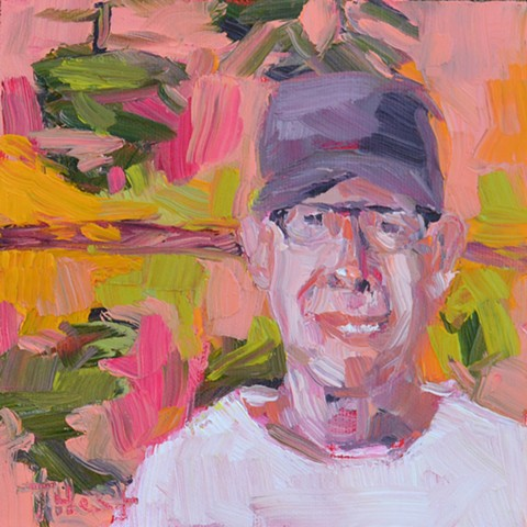 Portrait of Gordon Harrison, Canadian Landscape Painter