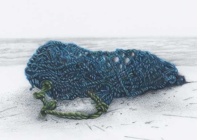 Detail from: Blue Net