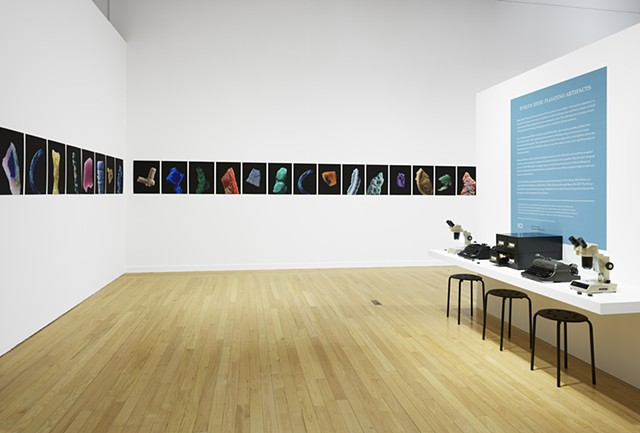 Floating Artifacts Installation View  @ Tufts University Art Gallery