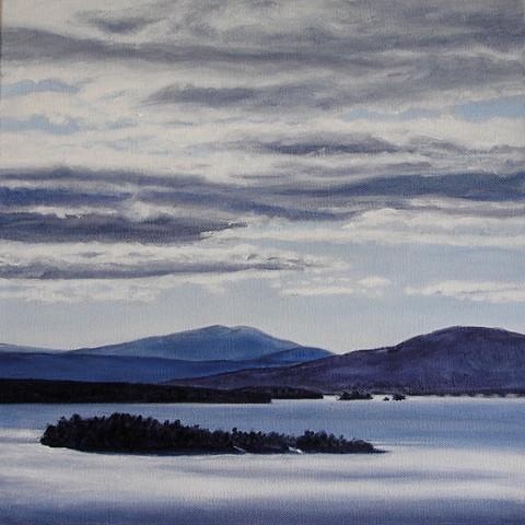 Rangeley Lake February print