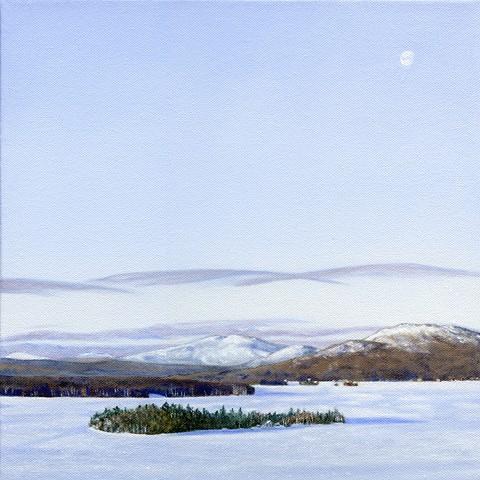 Rangeley Lake January Print