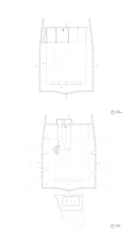 Ground Floor and Lower Level Plans