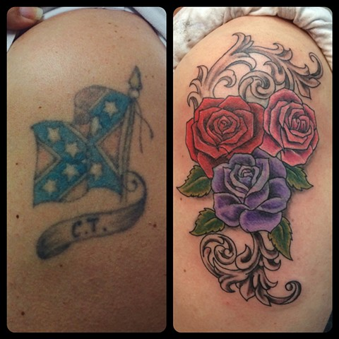 Cover-ups and reworked