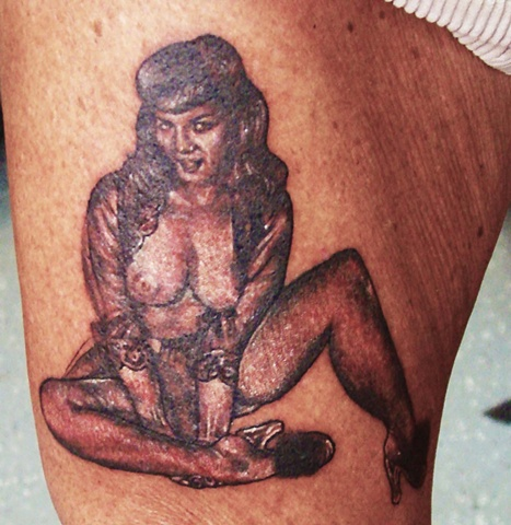 Pin Up Tattoo, Pinup Tattoo, Pin-Up Tattoo, Saints and Scholars Tattoos Bastrop, TX