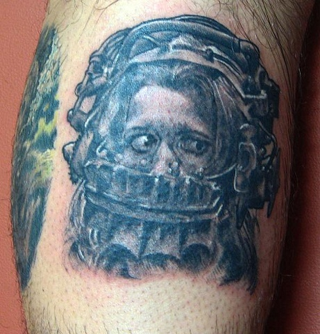 saw, saw tattoo, Saints and Scholars Tattoos Bastrop, TX,
