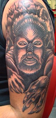 Mayson's Werewolf Finished