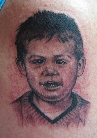 baby portrait, Saints and Scholars Tattoos Bastrop, TX