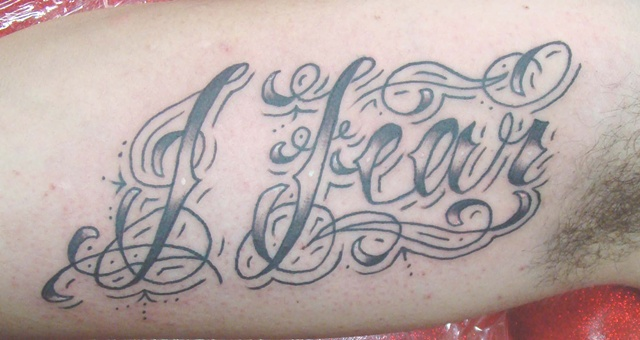 Cursive, cursive tattoo, lettering, Saints and Scholars Tattoos Bastrop, TX