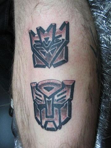 transformers tattoo, Saints and Scholars Tattoos, Bastrop, TX,