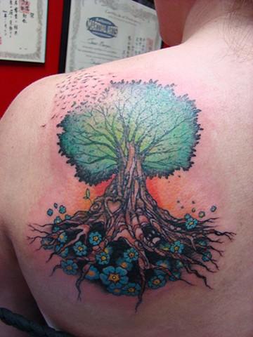 Tree on Marisa