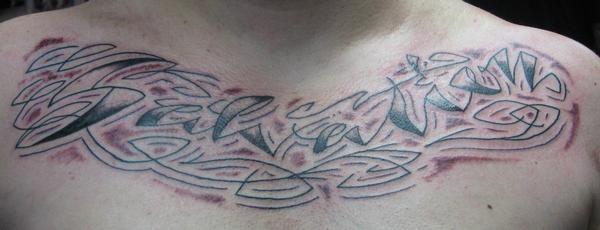 Cursive, cursive tattoo, lettering, Saints and Scholars Tattoos Bastrop, TX