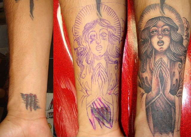 Angel cover-up