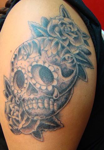 Ana's healed Sugar Skull
